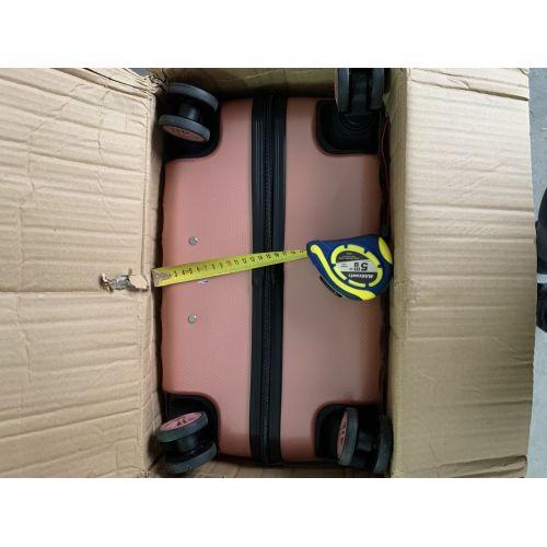 Уценка Поликарбонатный чемодан Wings Golden 190 большой розовый