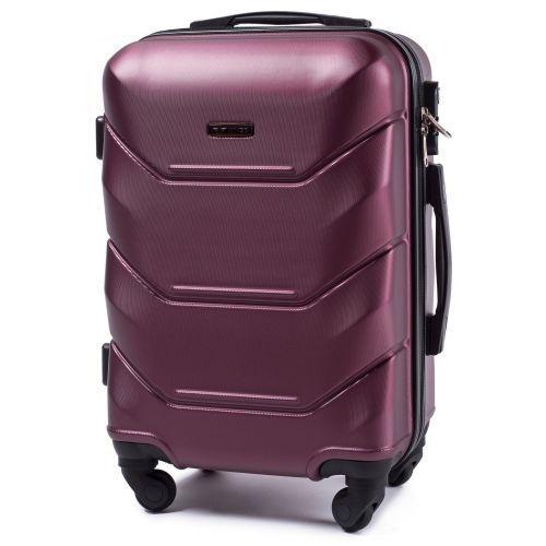 Набор дорожных чемоданов Wings Peacock 147 4 штуки бордовый