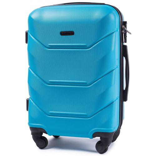 Набор дорожных чемоданов Wings Peacock 147 3 штуки голубой