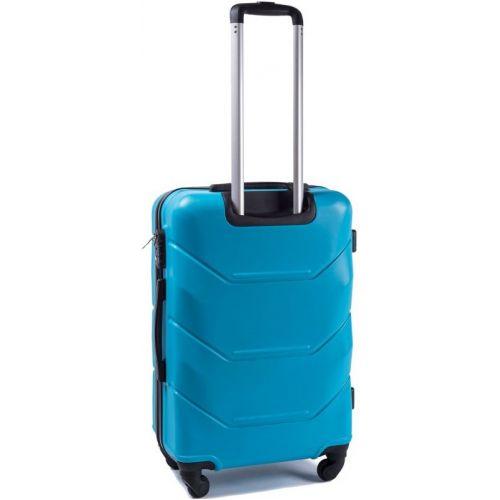 Набор дорожных чемоданов Wings Peacock 147 4 штуки голубой