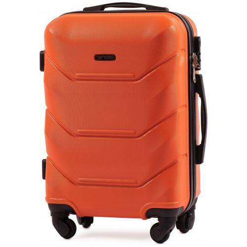 Набор дорожных чемоданов Wings Peacock 147 3 штуки оранжевый