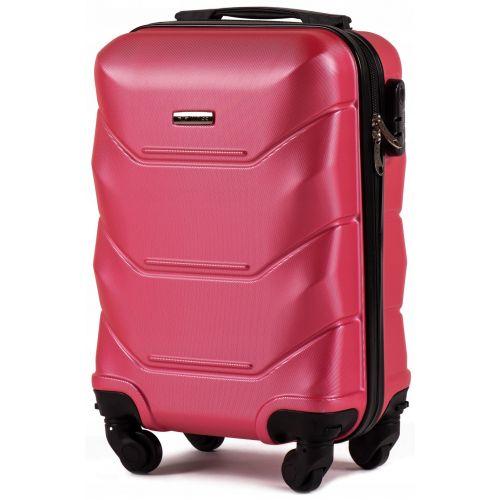 Набор дорожных чемоданов Wings Peacock 147 3 штуки розовый