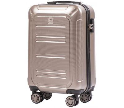 Поликарбонатный чемодан Wings Imperial 175 маленький бронзовый