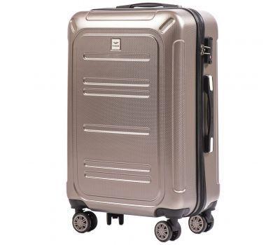 Поликарбонатный чемодан Wings Imperial 175 средний бронзовый