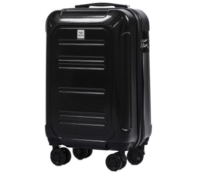Поликарбонатный чемодан Wings Imperial 175 маленький черный