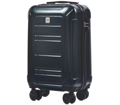 Поликарбонатный чемодан Wings Imperial 175 маленький изумрудный