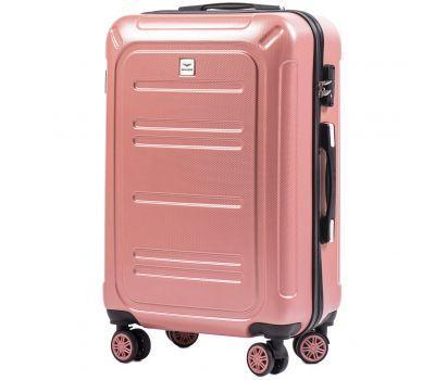 Поликарбонатный чемодан Wings Imperial 175 средний розовый