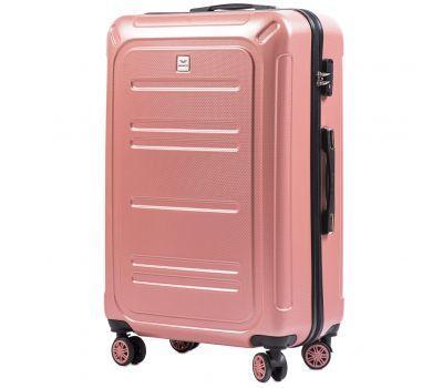 Поликарбонатный чемодан Wings Imperial 175 большой розовый