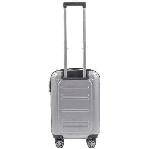 Поликарбонатный чемодан Wings Imperial 175 маленький серебряный