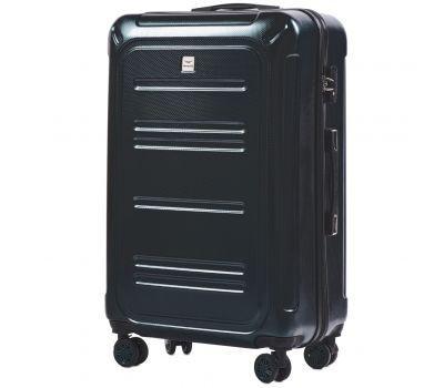 Поликарбонатный чемодан Wings Imperial 175 большой изумрудный