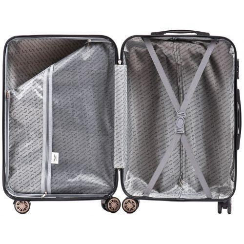 Поликарбонатный чемодан Wings Imperial 175 большой бронзовый