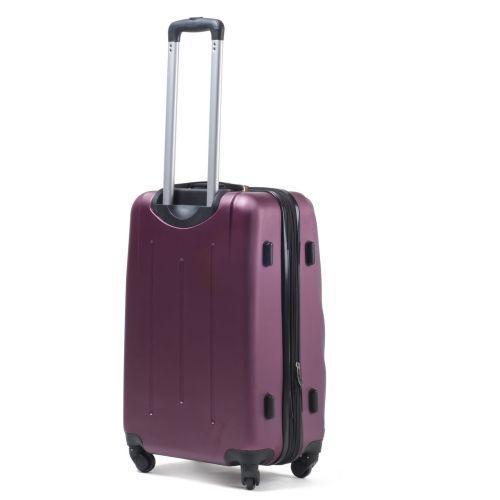 Пластиковый чемодан на колесах Wings 304 большой фиолетовый