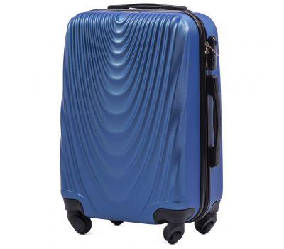 Пластиковый чемодан Wings 304 мини ручная кладь middle blue