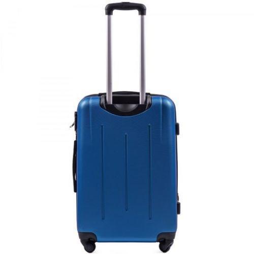 Набор чемоданов на колесах Wings 304 3 штуки middle blue