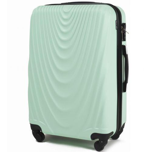 Набор чемоданов на колесах Wings 304 3 штуки мятный