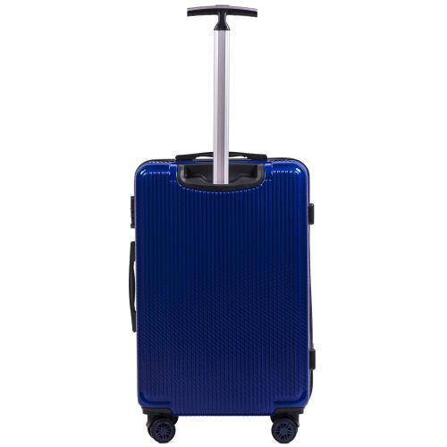 Поликарбонатный чемодан Wings African 565 средний синий