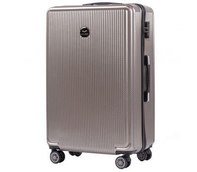 Поликарбонатный чемодан Wings African 565 большой бронзовый