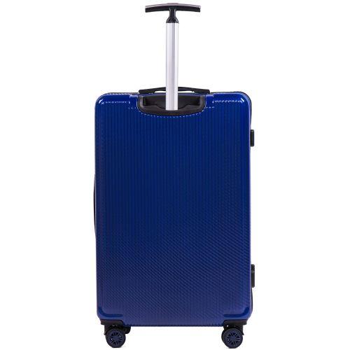 Набор чемоданов из поликарбоната Wings African 565 3 штуки синий