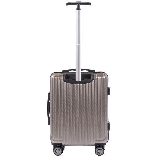 Поликарбонатный чемодан Wings African 565 маленький бронзовый