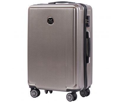 Поликарбонатный чемодан Wings African 565 средний бронзовый