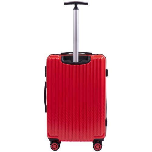 Поликарбонатный чемодан Wings African 565 средний красный