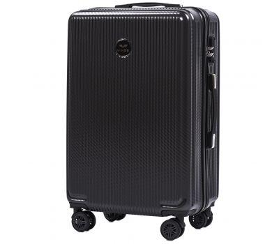 Поликарбонатный чемодан Wings African 565 средний серый