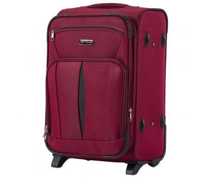 Тканевый чемодан Wings Barn Owl 1601 маленький S на 2 колесах красный