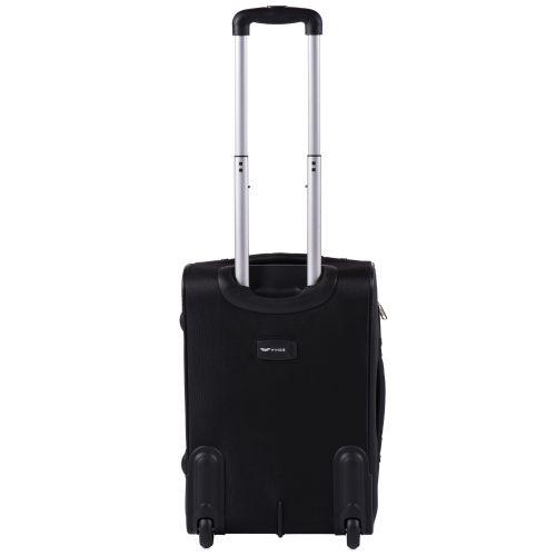 Тканевый чемодан Wings Barn Owl 1601 маленький S на 2 колесах черный