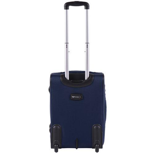 Тканевый чемодан Wings Barn Owl 1601 маленький S на 2 колесах синий