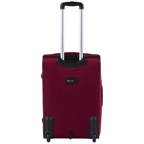 Тканевый чемодан Wings Barn Owl 1601 средний M на 2 колесах красный