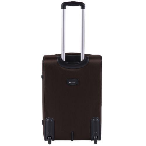 Тканевый чемодан Wings Barn Owl 1601 средний M на 2 колесах кофейный