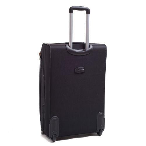 Набор тканевых чемоданов Wings Buzzard 1706 3 штуки на 2 колесах голубой