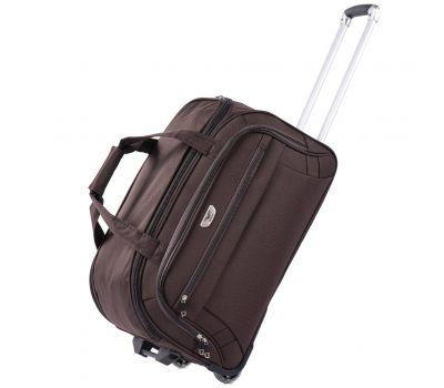Дорожная сумка на 2 колесах Wings C1109 средняя M кофейная