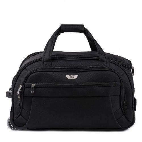 Дорожная сумка на 2 колесах Wings C1109 средняя M черная