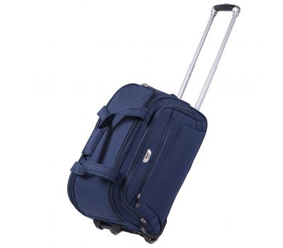 Дорожная сумка на 2 колесах Wings C1109 маленькая S синяя