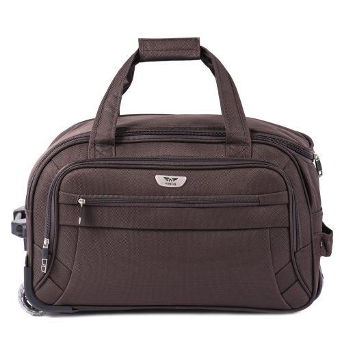 Дорожная сумка на 2 колесах Wings C1109 маленькая S кофейная