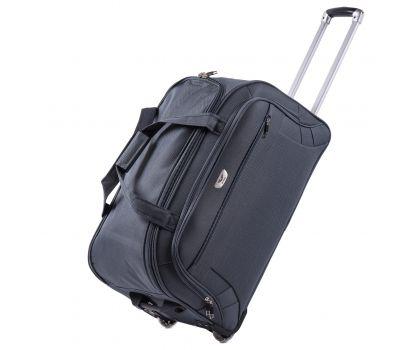 Дорожная сумка на 2 колесах Wings C1109 большая L серая