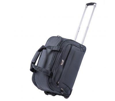 Дорожная сумка на 2 колесах Wings C1109 маленькая S серая