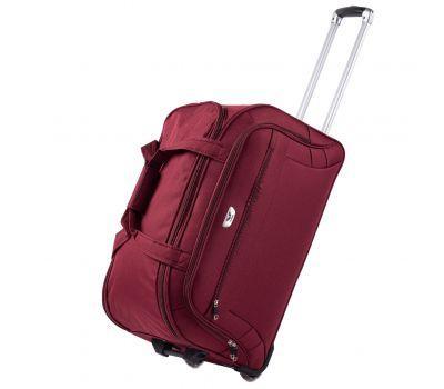 Дорожная сумка на 2 колесах Wings C1109 большая L бордовая