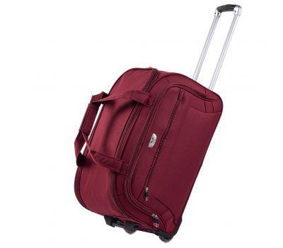 Дорожная сумка на 2 колесах Wings C1109 средняя M бордовая