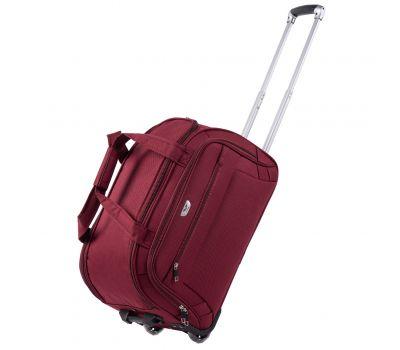 Дорожная сумка на 2 колесах Wings C1109 маленькая S бордовая