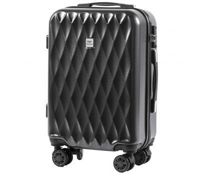 Поликарбонатный чемодан Wings Golden 190 маленький серый