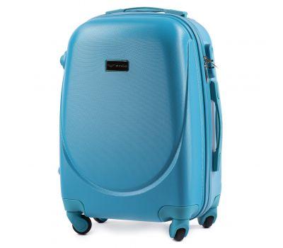 Дорожный чемодан на колесах Wings Goose 310K маленький голубой