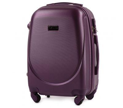 Дорожный чемодан на колесах Wings Goose 310K маленький фиолетовый