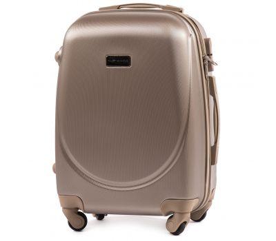 Дорожный чемодан на колесах Wings Goose 310K маленький шампань