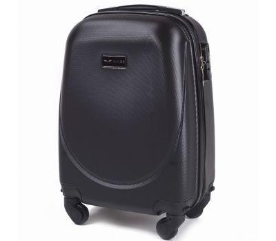 Дорожный чемодан на колесах Wings Goose 310K маленький серый
