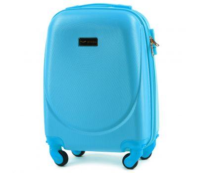 Дорожный чемодан для ручной клади Wings Goose 310K мини голубой