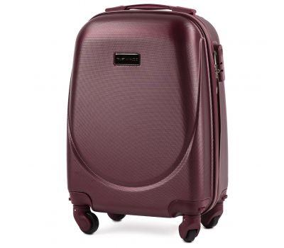Дорожный чемодан для ручной клади Wings Goose 310K мини бордовый