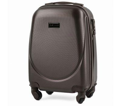 Дорожный чемодан для ручной клади Wings Goose 310K мини кофейный