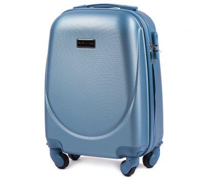 Дорожный чемодан для ручной клади Wings Goose 310K мини silver blue